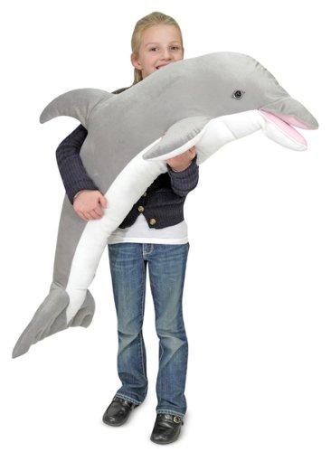 Melissa Doug Plush Dolphin