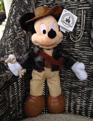 Disney Park Indiana Jones Mickey Mouse Plush Doll NEW