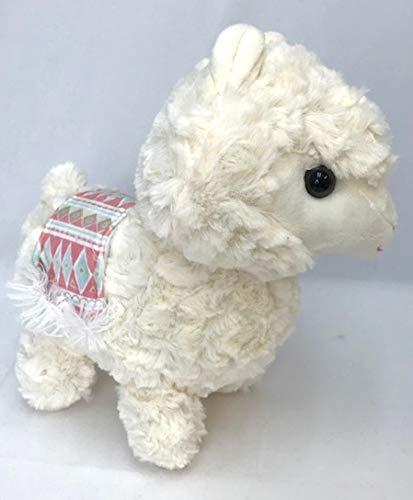 Llama Alpaca Plush Toy 10 Inch White