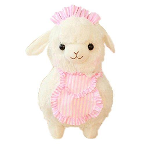OULII Arpakasso Alpaca Plush Toy Cafe Waiters and Maids Christmas Birthday Gift White Arpakasso - 45cm