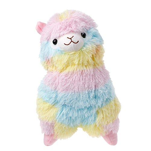 SHNUM Rainbow Amuse Alpaca Plush Toy Lama Alpacasso Doll Cotton Stuffed Animal Toys