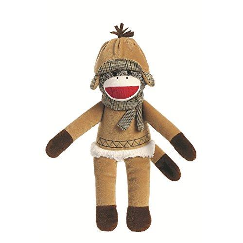 Winter Holiday Sock Monkey 12-Inch Plush