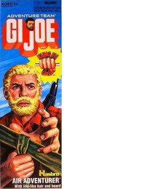 GI Joe Adventure Team 12 AIR ADVENTURER with Kung-Fu Grip Action Figure
