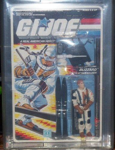 1988 Hasbro Gi Joe Series 734 Back Blizzard