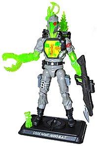 Hasbro GI Joe 2012 Subscription Exclusive Action Figure Nano BAT