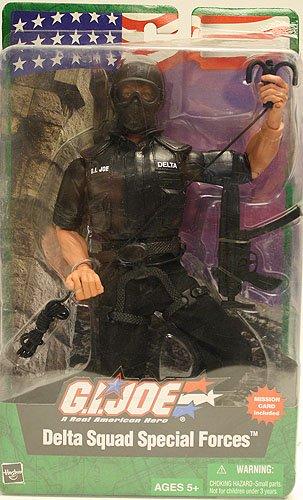Hasbro GI Joe Delta Squad Special Forces