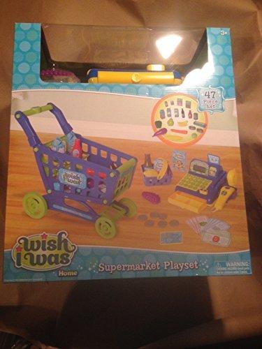 I Wish I Was Supermarket Playset BlueGreen