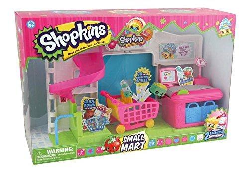 Shopkins Supermarket Playset 12pk Figure Bundle