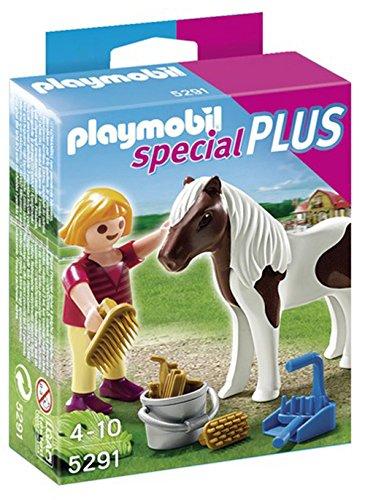 PLAYMOBIL Girl with Pony Playset