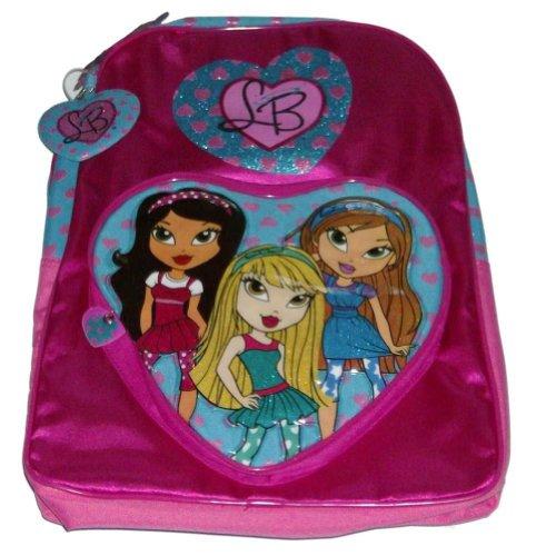 Bratz Pretty Pink Lil Backpack Glitter Travel School Back Pack