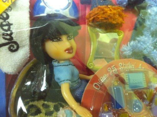 Lil Bratz Fashion Tote Jade Doll