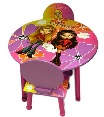 Lil Bratz kids furniture - Bratz table and 2 chairs set