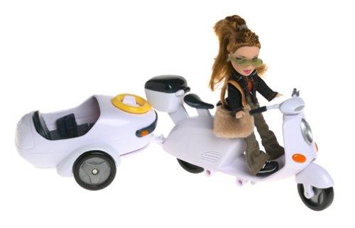 None Lil Bratz Lil Moto-Bike with Meygan Doll