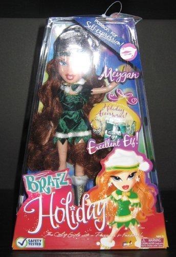 Bratz 2008 Holiday Doll Elf Meygan by Bratz