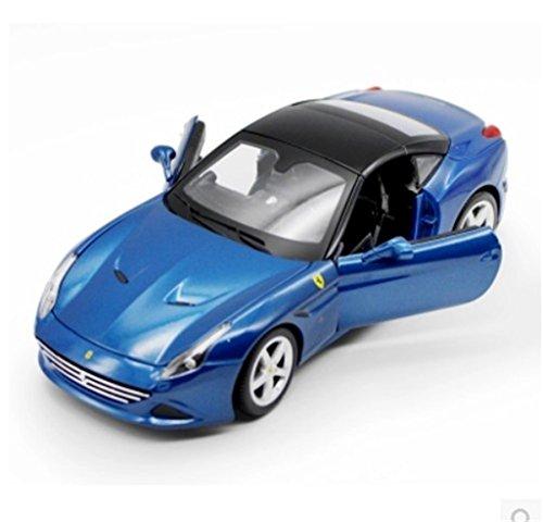 118 Bburago Ferrari California Diecast Sports Model Car New in Box Blue