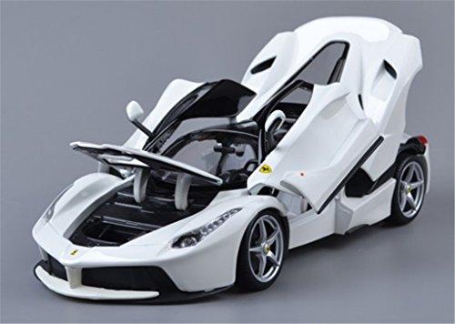 118 Bburago Ferrari Laferrari Diecast Sports Model Car New in Box White