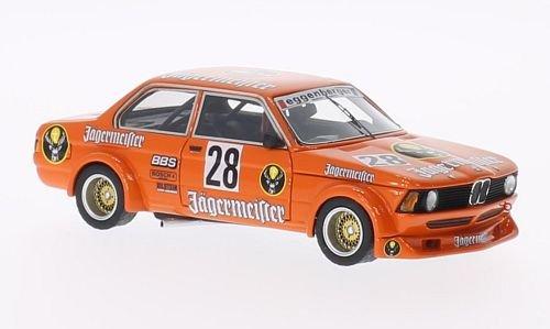 BMW 320i Gr2 E21 No28 Jägermeister Eggenberger Motor Sport ETCC  1979 Model Car Ready-made Neo 143