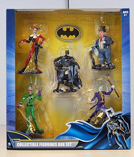 DC Comics Batman Collectible Figurines Box Set