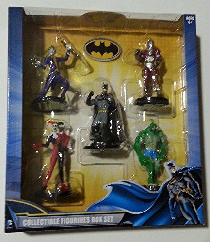 DC Comics Batman Collectible Figurines Box Set - 5 piece by DC Comics