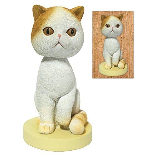 Adorable Shorthair Cat Collectible Bobblehead Figure