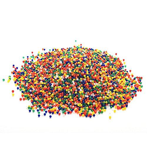 Kocome 10000Pcs Bullet Ball Mini Round Soil Crystal Water Bead For Water Gun Pistol Toy
