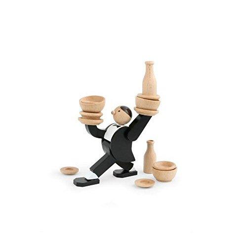 Kikkerland Dont Tip The Waiter Stacking Game