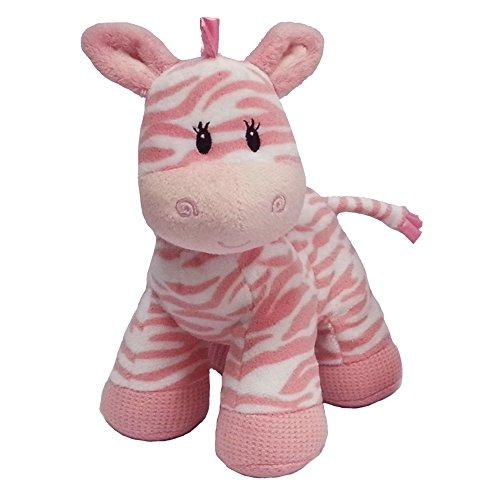 First Main Zippy Zebra Pink 8 Standing Toy