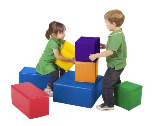 ECR4Kids Softzone Foam Big Blocks 7-Piece Set