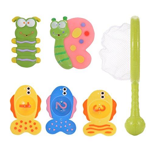 Acefun Bath Time Fishing Toy Set Bathtub Toys for Baby
