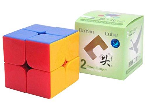 DaYan Zhanchi 2x2 Stickerless Speed Cube Puzzle 50 mm