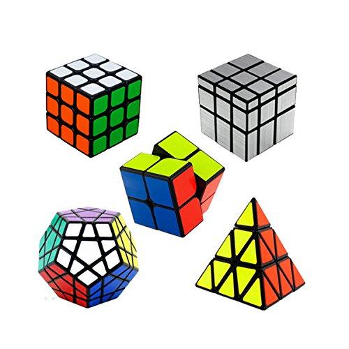 Ting-w Shengshou magic cube puzzle packedSpeed cube:2x2 Magic cube  3X3 Magic cube Black Megaminx cubeMirror cube Pyraminx Cube black