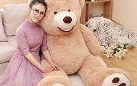 MorisMos-Gaint-Teddy-Bear-with-Big-Footprints-Plush-Stuffed-Animals-Light-Brown-100CM-39inch-12.jpg