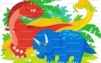 1-4-Cartoon-Dinosaurs-Birthday-Edible-Image-Cake-Cupcake-Topper-32.jpg