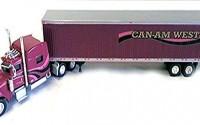 CAN-AM-WEST-CARRIERS-PETERBILT-389-Sleeper-Trailer-TONKIN-1-87-Diecast-Truck-HO-Scale-25.jpg