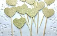 DOOXOO-Handmade-Glittery-Gold-Valentine-Love-Heart-Cupcake-Toppers-Set-of-36-0.jpg