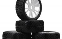 Mxfans-White-17mm-Hex-12-Spoke-Plastic-Wheel-Rims-Black-T-Type-Pattern-Rubber-Tires-for-RC-1-8-Off-road-Car-Pack-Of-4-15.jpg