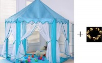 AniiKiss-Portable-Princess-Castle-Play-Tent-Kids-Funny-Indoor-Outdoor-Playhouse-with-LED-Light-Blue-6.jpg