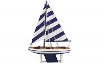 Hampton-Nautical-Decorative-Wooden-It-Floats-Model-Boat-12-Blue-Stripes-Floating-Sailboat-Model-Wooden-Sailing-Model-Yacht-Toy-Figure-5.jpg